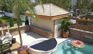 ESSA Rolling Shutters - Outdoor Bar Enclosure