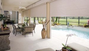 Rolling Shutters - Residential Patio Enclosure
