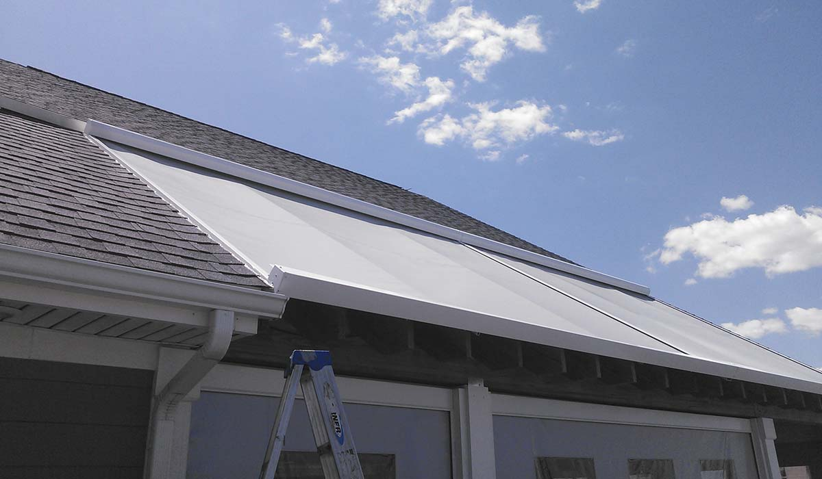 ESSA Solar Screen - Roof Fixture